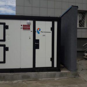 Компания «МежРегионПроект» выполнила работы по реконструкции системы внешнего электроснабжения на объекте Новосибирского филиала ПАО «Ростелеком»
